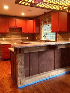 Rust Colored Kitchen