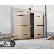 Porte De Garage Battante 2 Vantaux Manuelle Primo H 200 X