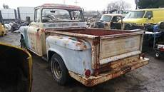 classic 1957 gmc 100 big back window patina