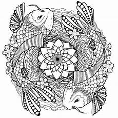 Malvorlagen Mandala Fische Image Result For Koi Pond Pattern Free
