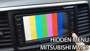 Mitsubishi MMCS Hidden Diagnostic Menu With Service Mode