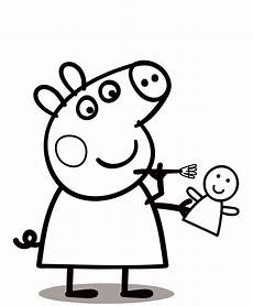 Peppa Pig Ausmalbilder Kostenlos Peppa Pig Coloring Pages To Print For Free And Color