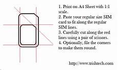 iphone 4 sim card cutting template micro sim template cyberuse