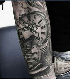 pin by dominic sandoval on tattoos clock design
