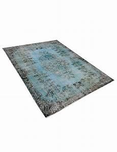 vintage teppich blau vintage teppich blau 275 x 173