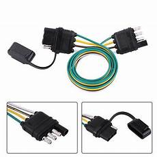 flat wire harness pin trailer wiring harness extension 4 pin flat wire connector adapter 989062880044 ebay