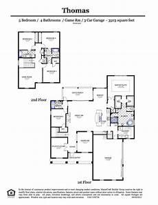 craftsman bungalow second floor plan sdl custom homes worthington series thomas 5 bedrooms floor plan
