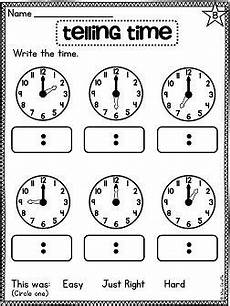 time worksheets differentiated 2965 telling time worksheets differentiated for all learners telling time activities grade