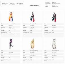 wholesale line sheet wholesale line sheet template startup fashion