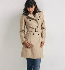 trench femme promod trench femme camel clair tendance