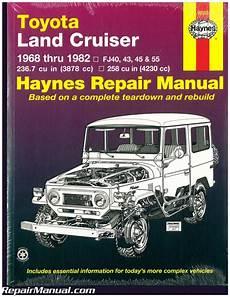 free car manuals to download 1999 toyota land cruiser regenerative braking haynes toyota land cruiser 1968 1982 auto repair manual