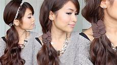 easy faux braid headband hairstyles for medium hair