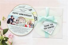 anniversary cd diy anniversary party favors