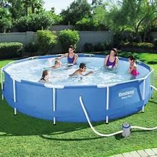 piscine quot steel pro frame pool quot bestway avec pompe et