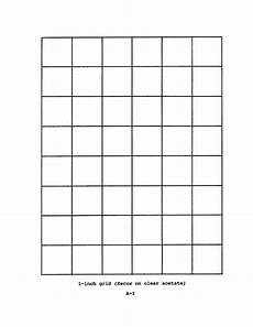 1 inch grid xerox clear acetate