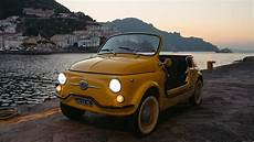 electric fiat 500 jolly is the ultimate hire car