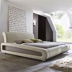 Doppelbett Mit Lattenrost - polsterbett komplett blain bett 160x200 beige lattenrost