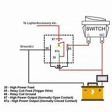 87a relay wiring diagram automotive relay socket with 5 pin relay harness mgi speedware