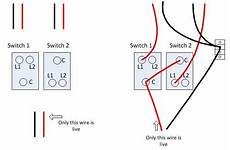 change 2 gang 1 way light switch in kitchen wiring probs diynot forums