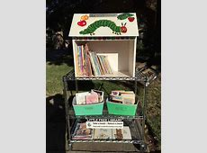 Cute Little Free Library Design Ideas, Recycling for Gifts