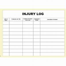 injury log books sterling first aid