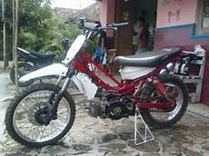 Modifikasi Motor Bebek Yamaha by Foto Gambar Modifikasi Motor Bebek Jadi Trail Dan Cara