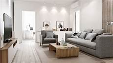 Wohnzimmer Ideen Holz - white walls wood floors apartment search modern