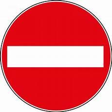 sens interdit panneau panneau de prescription b1 sens interdit en aluminium 224 couvre chant