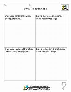 drawing shapes worksheets 1081 grade geometry