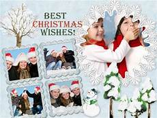 christmas collage card add templates download free