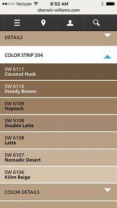 sherwin williams latte color strip paint in 2019 brown paint colors paint colors paint