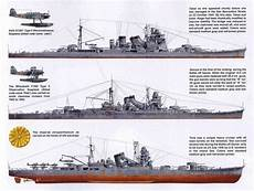 Wwii Japanese Navy Heavy Cruisers Warship Profiles