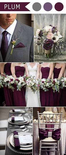 5 different shades of purple wedding colors purple