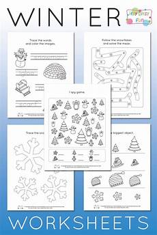 winter pre writing worksheets 20124 winter worksheets for kindergarten itsy bitsy