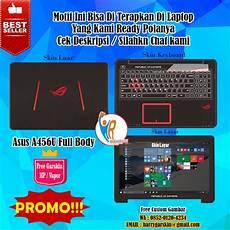 Jual Original Garskin Laptop Asus A456u Motif