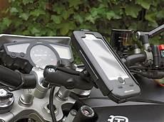 handyhalterung motorrad test handy halterung sw motech kradblatt