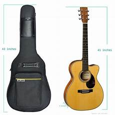 acoustic guitar soft cases 41 quot acoustic guitar pocket padded gig soft fits most standard gift new 727908934250 ebay
