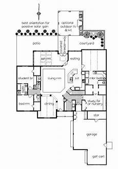 house plans with sunrooms one story home plan with sunroom