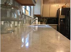 Lusso quartz countertops by Silestone with large single