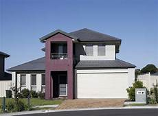 modern suburban house stock image image of garage