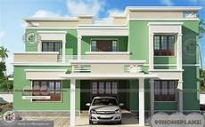 3d house plans free online with 2 story flat type modern design ideas