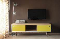 ikea lack tv furniture hacked into vintage style