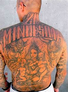 widely recognized style of prison tattoos