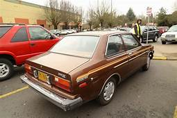 OLD PARKED CARS 1981 Datsun 210