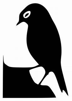 malvorlage vogelsihouette kostenlose ausmalbilder zum