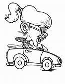 Driving Car Full Of Smoke Coloring Pages  Best Place To Color