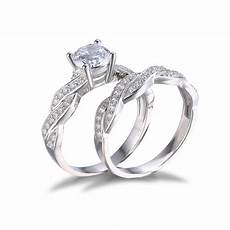jewelrypalace 1 5ct cz wedding bridal sets ring solid 925