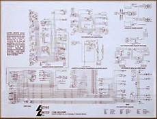 laminated wiring diagram for your 1953 1982 corvette