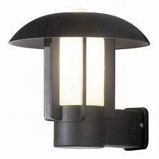 konstsmide 401 752 heimdal single light outdoor wall fitting in black with opal glass diffuser
