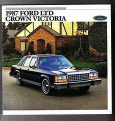 auto repair manual online 1986 ford ltd crown victoria seat position control 1987 ford ltd crown victoria brochure lx country squire ebay
